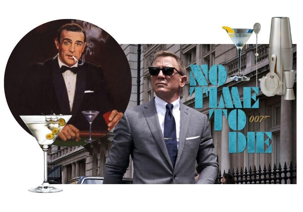 James Bond Martini Recipes | Vesper Martini, Shaken Not Stirred