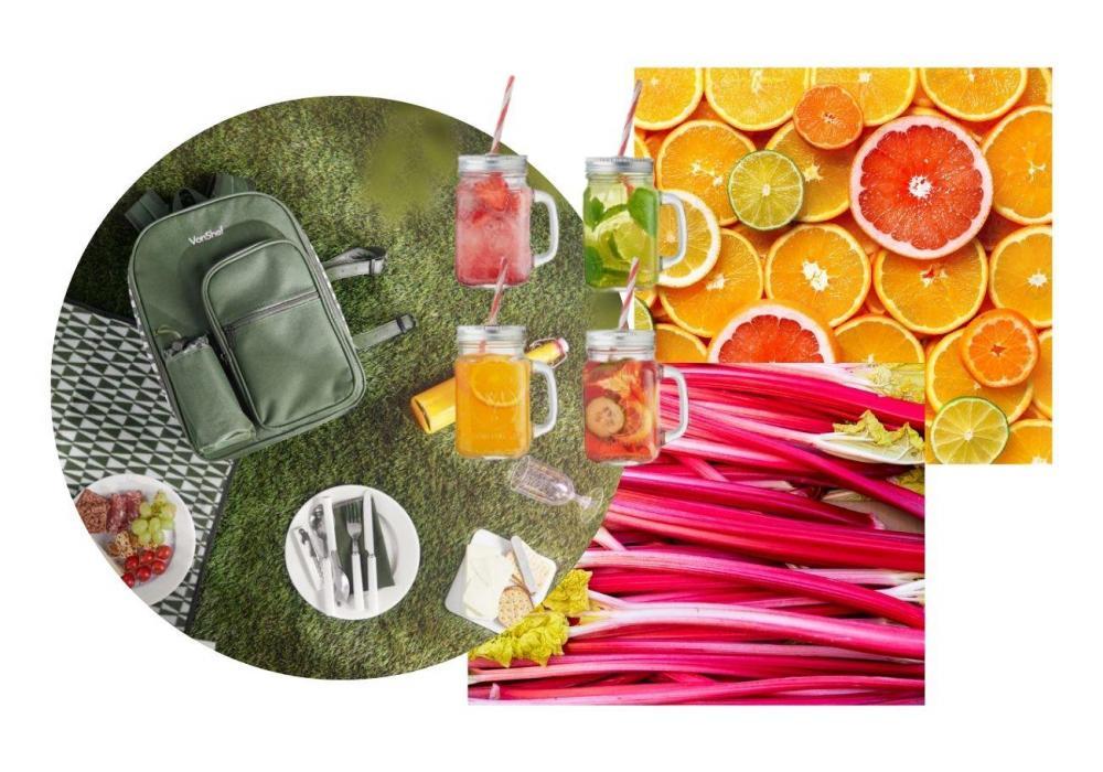 spring seasonal veg fruit recipes