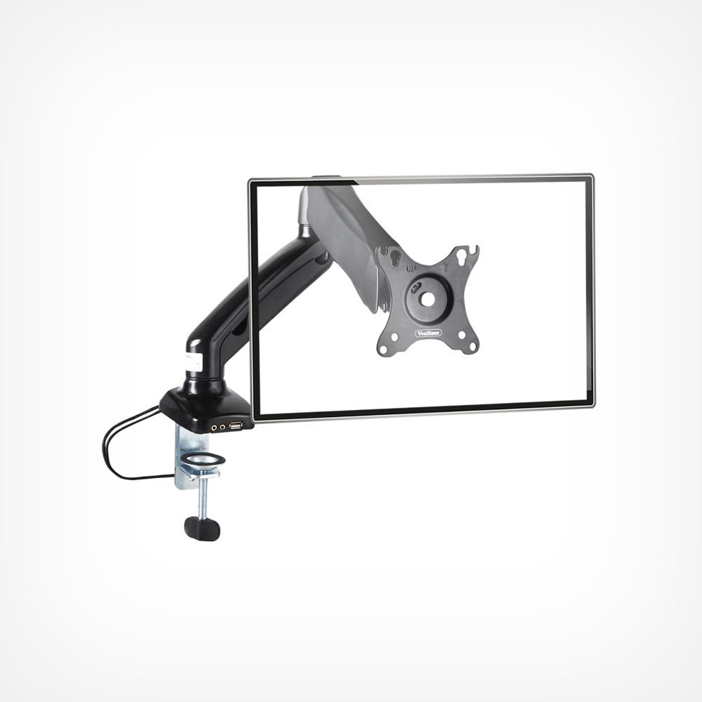 Single Arm Gas Mount With Clamp
