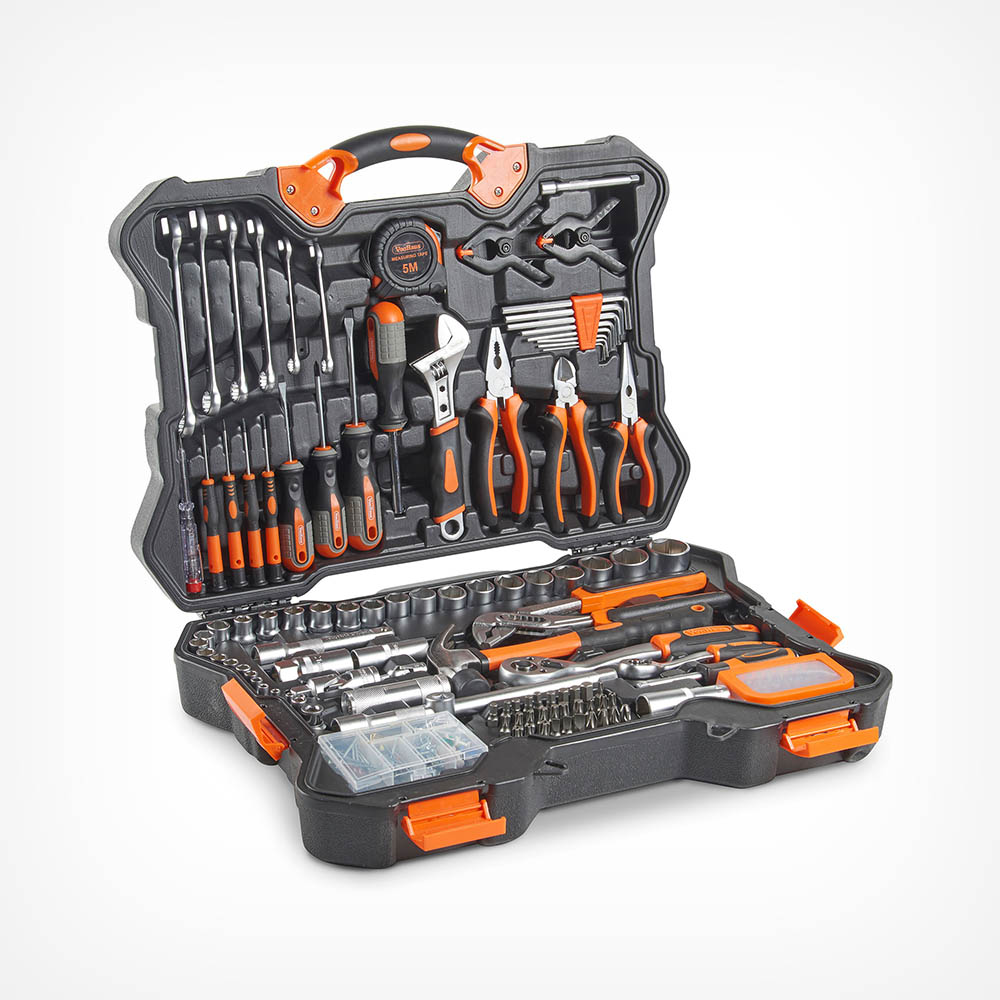 256pc Premium Tool & Socket Set