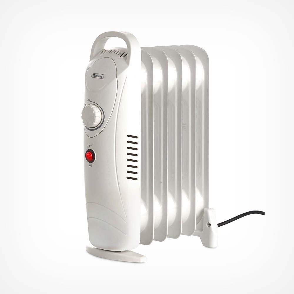 6 Fin 800W Oil Filled Radiator - White