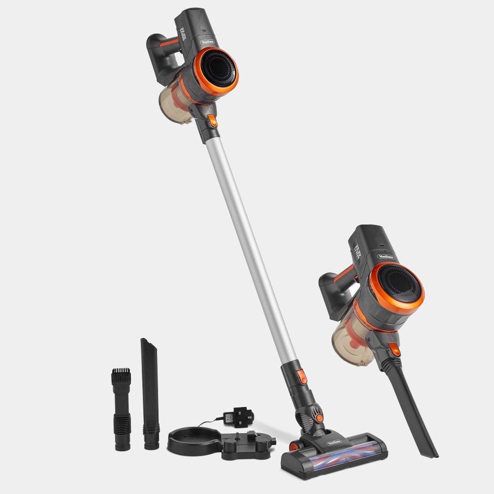 Grey Cordless Handheld Vacuum