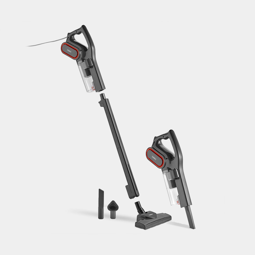 Black 2-in-1 Stick Vacuum