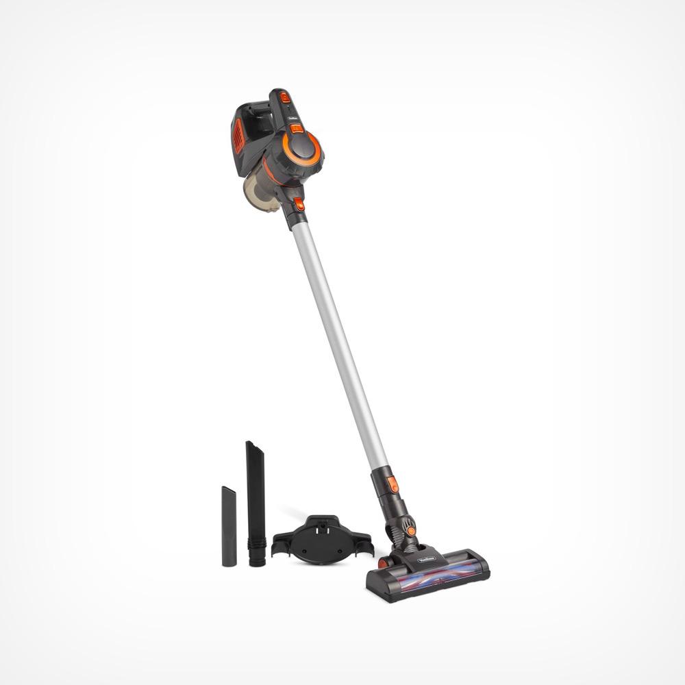 Grey Cordless Brushed Motor Vacuum