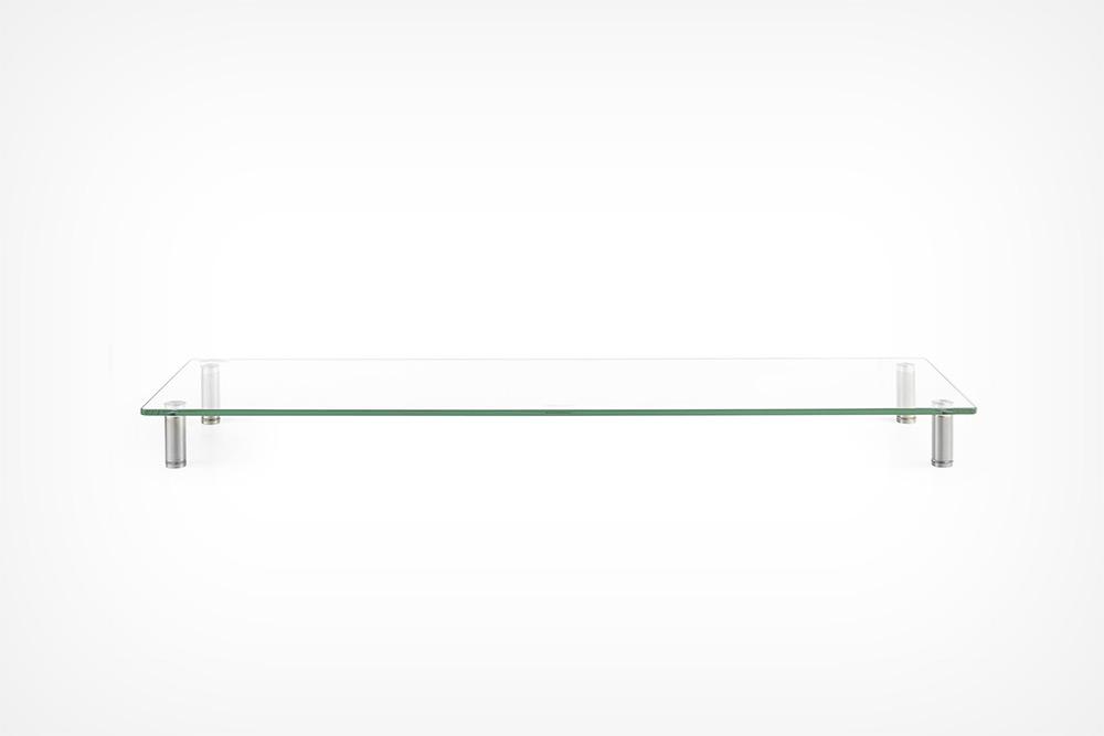 VonHaus XL Glass Monitor Stand