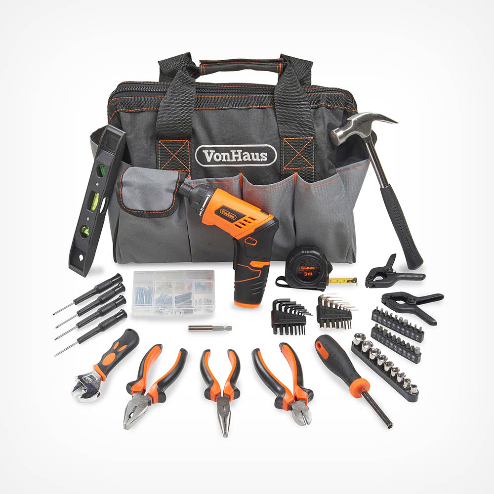 94pc Hand Tool & Screwdriver Kit