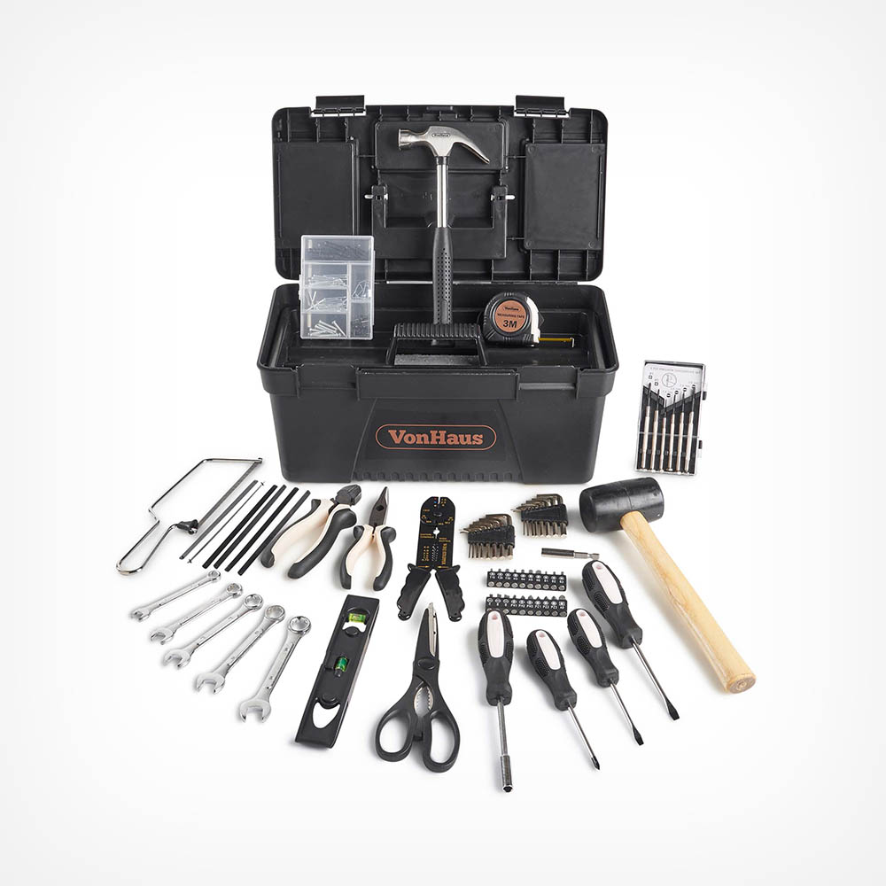 Rose Gold 170pc Household Tool Set