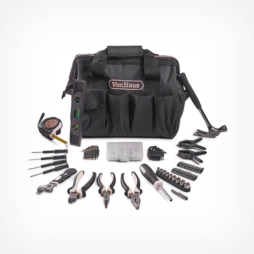 Rose Gold 92pc Household Tool Set