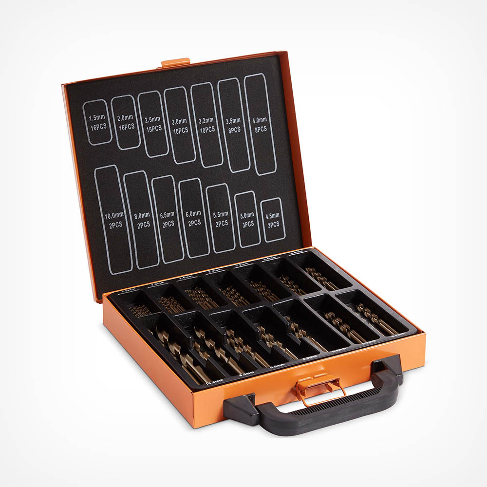 99pc Cobalt Drill Piece Set