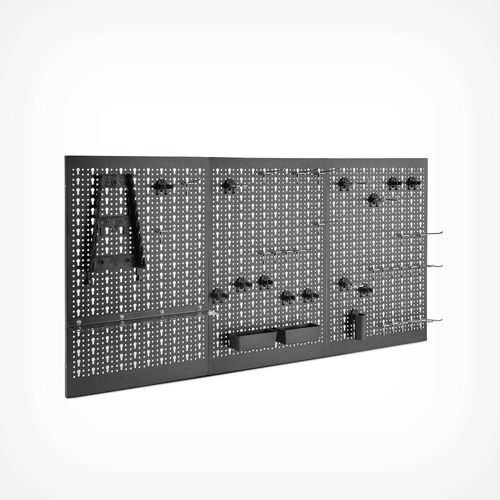 45pc Metal Pegboard Set