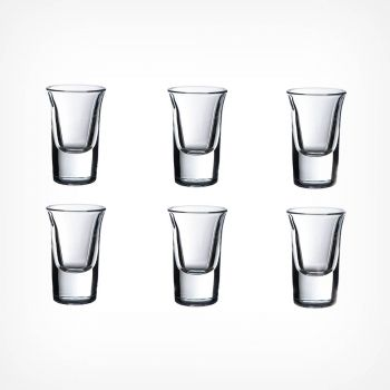 25ml Glass Shot Glasses