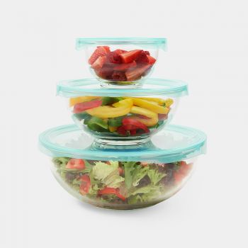 3pc Multipurpose Glass Bowls