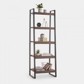 Rustic 5-Tier Shelf Unit