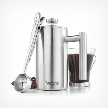 3 Cup Cafetiere with Spoon