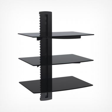 3x Floating Shelf  - Black