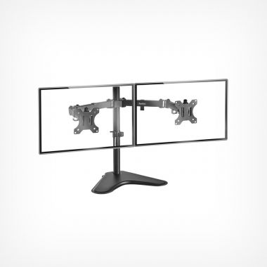 Dual Arm Desk Mount with Stand