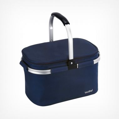 Navy Large Cooler Bag