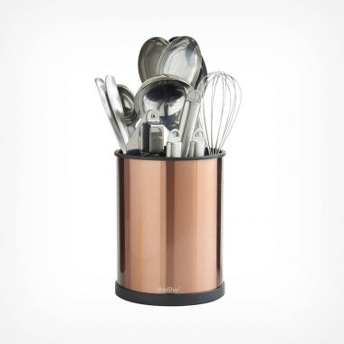 Rotating Utensil Holder - Copper