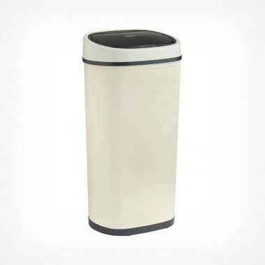 50L Sensor Bin – Cream