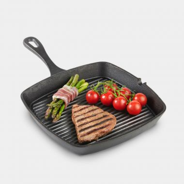 Seasoned Cast Iron Griddle Pan
