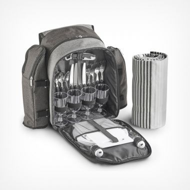 Ash Picnic Backpack for 4