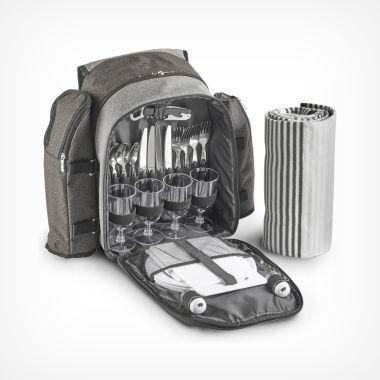 Ash Picnic Backpack for 4