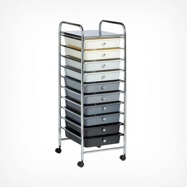 Ombre 10 Drawer Trolley