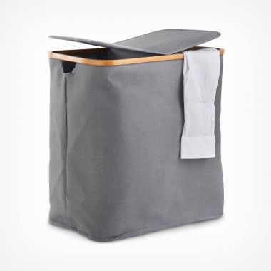 2 Compartment Laundry Basket