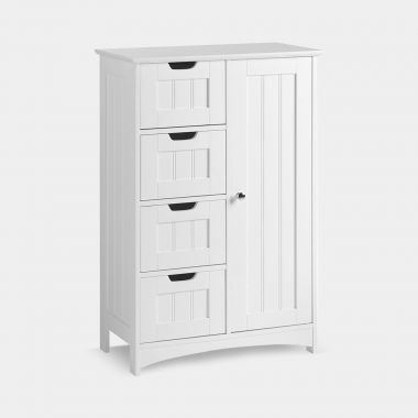 Colonial White Large Cabinet