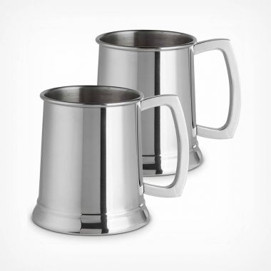 Stainless Steel Beer Tankards