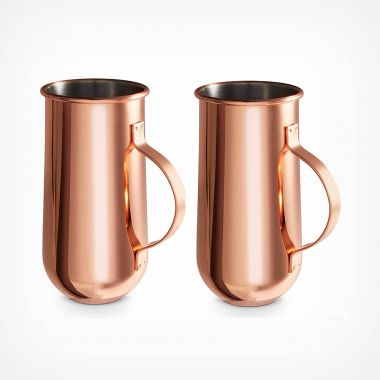 Copper Mugs with Handle