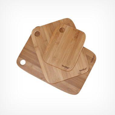 3 Piece Chopping Board Set