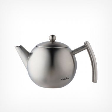 1L Stainless Steel Tea Pot