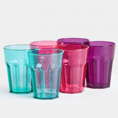 Set of 6 Plastic Cups