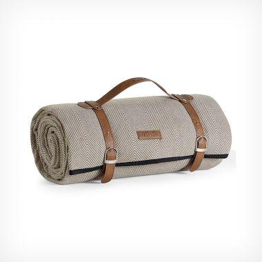 Extra Large Herringbone Picnic Blanket