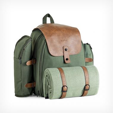 4 Person Green Adventure Backpack