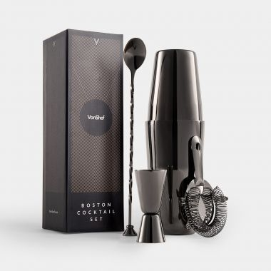 Graphite Boston Cocktail Set