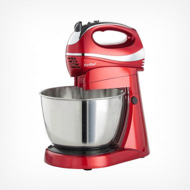 Red Hand & Stand Mixer