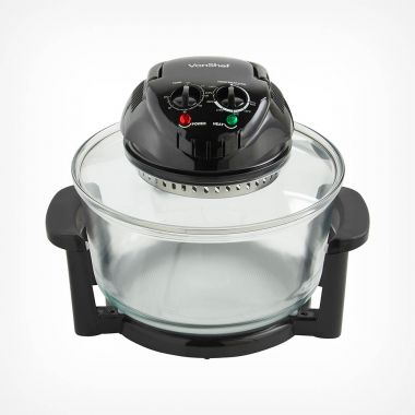 12L Black Halogen Oven