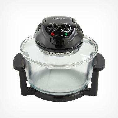 12L Black Halogen Oven