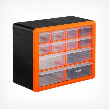12 Drawer Storage Organiser