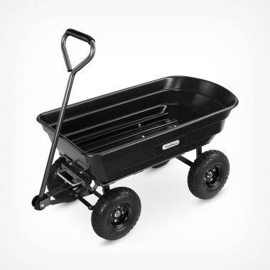 75ltr Garden Dump Trolley Cart