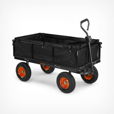 Mesh Garden Trolley Cart