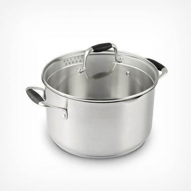 24cm Stainless Steel Casserole Pot