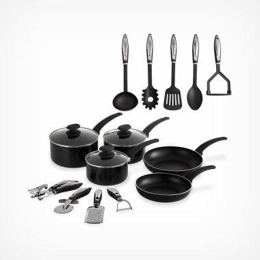 15 Piece Aluminium Cookware Set