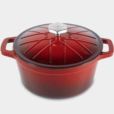 3.8L Cast Iron Casserole Dish