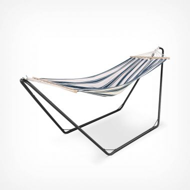 Single Hammock with Black Frame