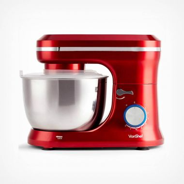 1000W Red Stand Mixer