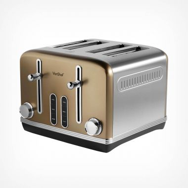 4 Slice Champagne Toaster
