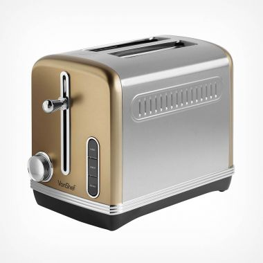 2 Slice Champagne Toaster